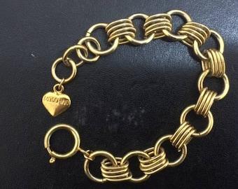 Moschino bijoux bracelet vtg