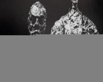 Alberto Giacometti-Louisiana-1976 Poster
