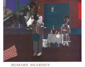 Romare Bearden-The Woodshed-1981 Poster