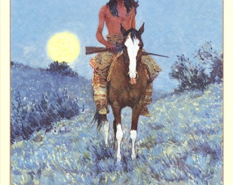 Frederic Remington-The Outlier-1994 Poster