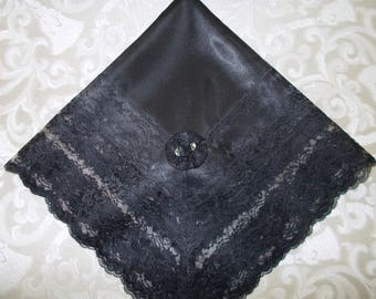 CinJas Large Satin Lap Scarves