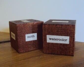 Artist's Dice - Minimalist Desk Decor - Artist Gift - Inspiration Dice - Artist's Block - Gift for Art Teacher - Art Student Aid - Art Cube