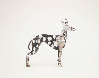 PSIKUSY Remix your dog / Greyhund / Wooden blocks