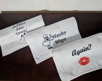 after sex towel sex rag valentines day gift idea boyfriend gift husband