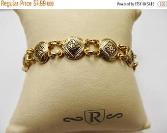 On Sale Vintage Damascene Bracelet Item K # 2903