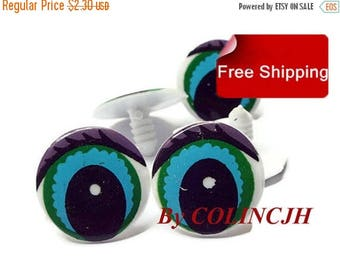 On Sale 10Pairs Toy Eyes Cartoon Safety Eyes Animal Craft Eyes Plastic Eyes With Plastic Washers