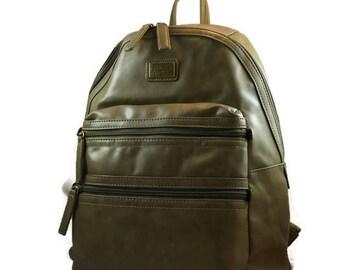 Olive Rucksack for Ladies   Travel Backpack Camera Bag      Dslr Backpack for Women
