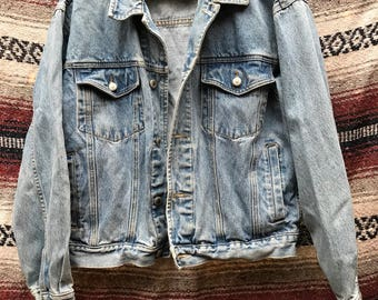 Vintage Denim Jacket: M