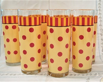 7 Gail Pittman Siena Glasses Tumblers