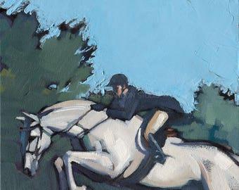 Horse Art Jumper - Alla Prima Painting