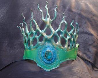 Earth and Sea goddess crown