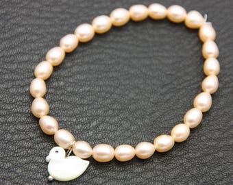 Freshwater Pearl Bracelet rose
