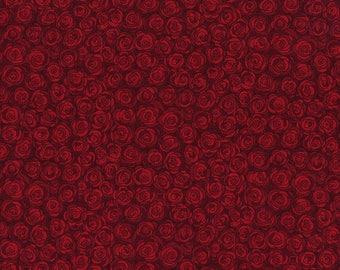 Hopscotch Rose Petals Ruby - RJR Fabrics - 3216-003