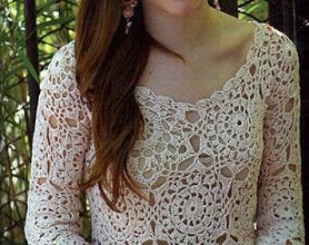 The crochet Tunic Lace Pattern