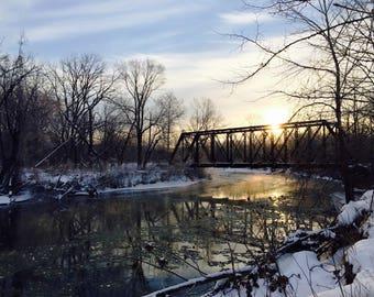 Jaite Railroad Bridge