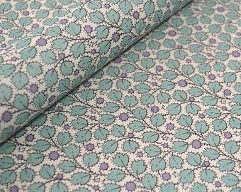 Tassotti Traditional Style Italian Paper - Aqua Leaves
