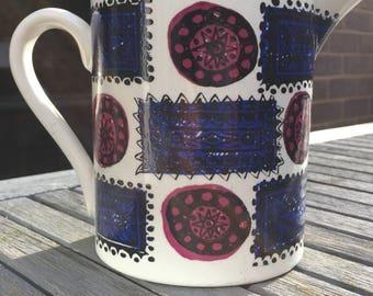 Portmerion 'Talisman' jug by Susan Williams