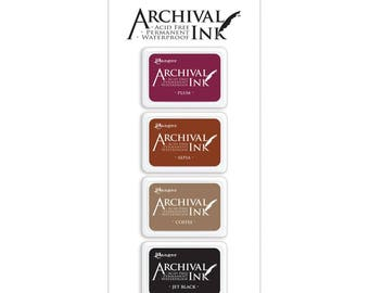 RANGER ARCHIVAL Ink Pad - MINI Ink Pads -