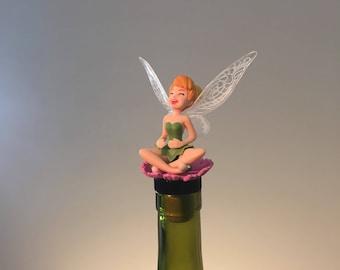 Tinker Bell Wine Stopper, Tinker bell Gift,  Fairy Wine Gift, Wine Lover, Fairy Gift, Disney Fairy, Wine Gifts, Wine Gift, Cheap Wine Gift