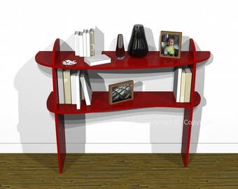 Two wooden trays Retento console
