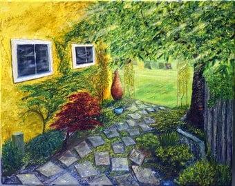 A Summer Afternoon, Fine Art Print