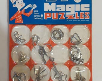 Rare vintage magic puzzle - still in box