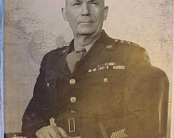 March 8, 1943 LIFE Magazine with Lieutenant General Brehon Burke Somervell on the Cover has 108 pages of ads and articles,Birthday Gift No.3