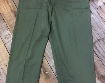 Men's Military Utility Trousers