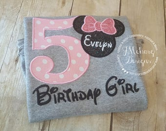 Disney-Inspired Birthday Shirt - 16th - 21st - 40th - 50th - 60th - Custom Birthday Tee 908