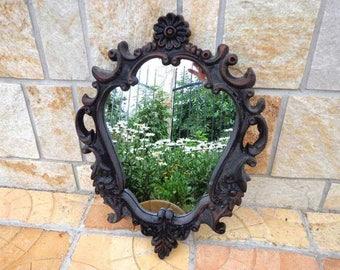 Vintage Ornate Carving frame Wall Mirror. Victorian - Art Nouveau - Baroque Mirror - Rococo - Vanity mirror – Wedding