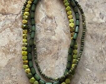Green Serpentine Necklace