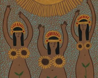 Inca Maidens of the Sun