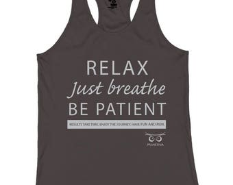 NEW Relax Just Breathe Tank