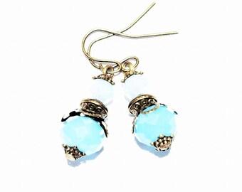 Crystal beaded women earrings