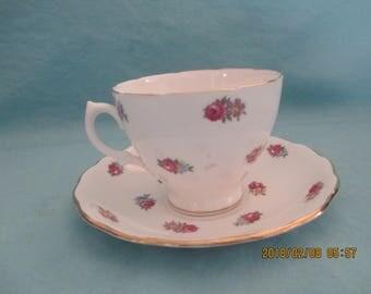 Royal Vale Bone China Tea Cup and Saucer