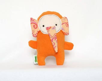 Orange Elephant Plush Toy, Elephant Stuffed Animal, Gifts for Newborns, Cute Elephant Plushie, Plush Doll, Small Stuffed Animals, Plush Toys