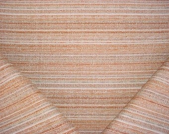 1-7/8 Yards Stroheim and Romann 6328202 Bungalow Texture in Pumpkin - Textured Lasso Weave Upholstery Fabric - Free Shipping
