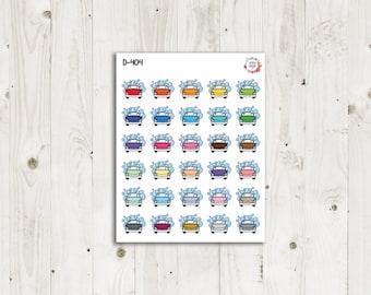 Car Wash Planner Stickers - ECLP Stickers