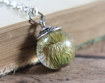 Small Thistle Necklace