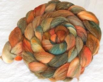 80/10/10 Targhee/Bamboo/Silk fiber, Non-Conformity, 6.5 ounces, 182 grams