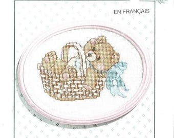 Be Merry All Cherished Teddies Counted Cross Stitch Kit by Janlynn