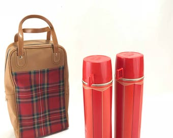 Vintage Thermos Picnic Set