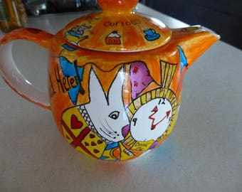 Mad as a Hatter Teapot