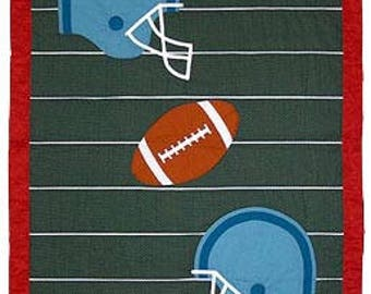 Football Quilt Pattern - Pattern only