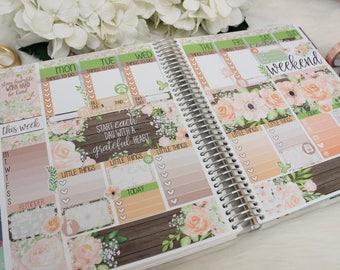 ECLP FLORAL CHIC, planner stickers, planner kit, planner accessories