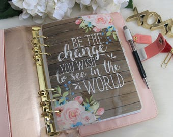 Be The Change Planner Dashboard, A5 Dashboard