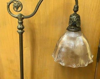 Stunning Antique Brass & Bronze Works Floor Lamp-1920's Art Deco--NYC-#075052