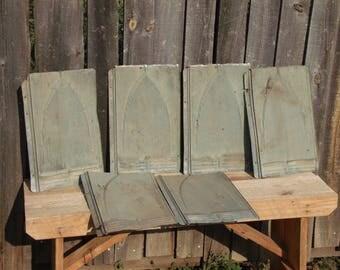 Tin shingles lot of 6
