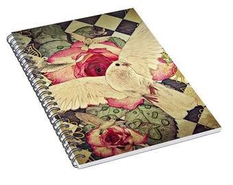 Flourish - spiral notebook, journal