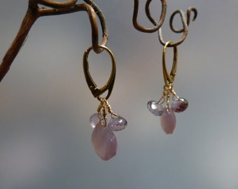 Lavender Pink Earrings